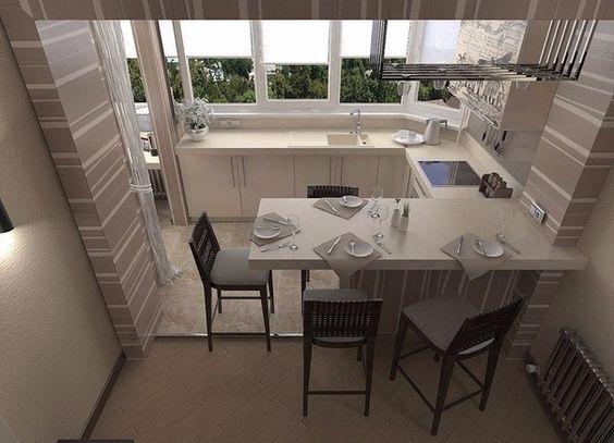 Кухня на балконе не мечта, а  реальность, «ПРОФ БТИ»